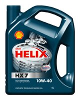 Масло Shell Helix Diesel HX7 10W-40