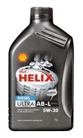 Масло Shell Helix Diesel Ultra АВ-L 5W-30
